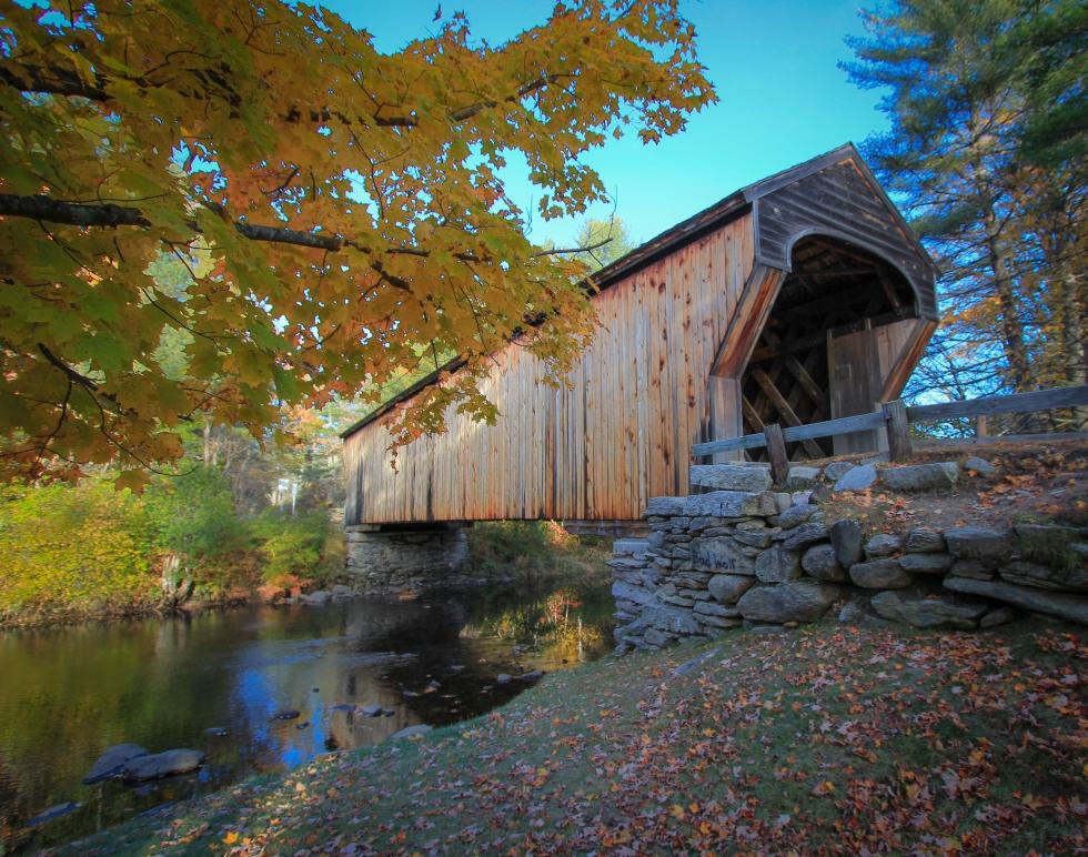 Autumn at the Corbin Bridge