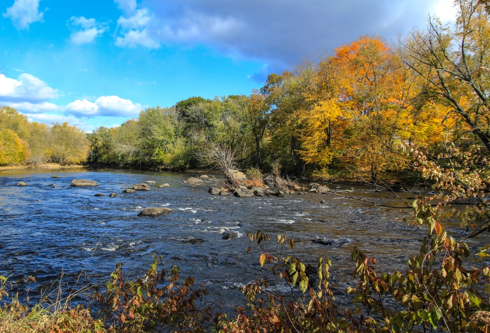 Autumn on the Contoocook River
