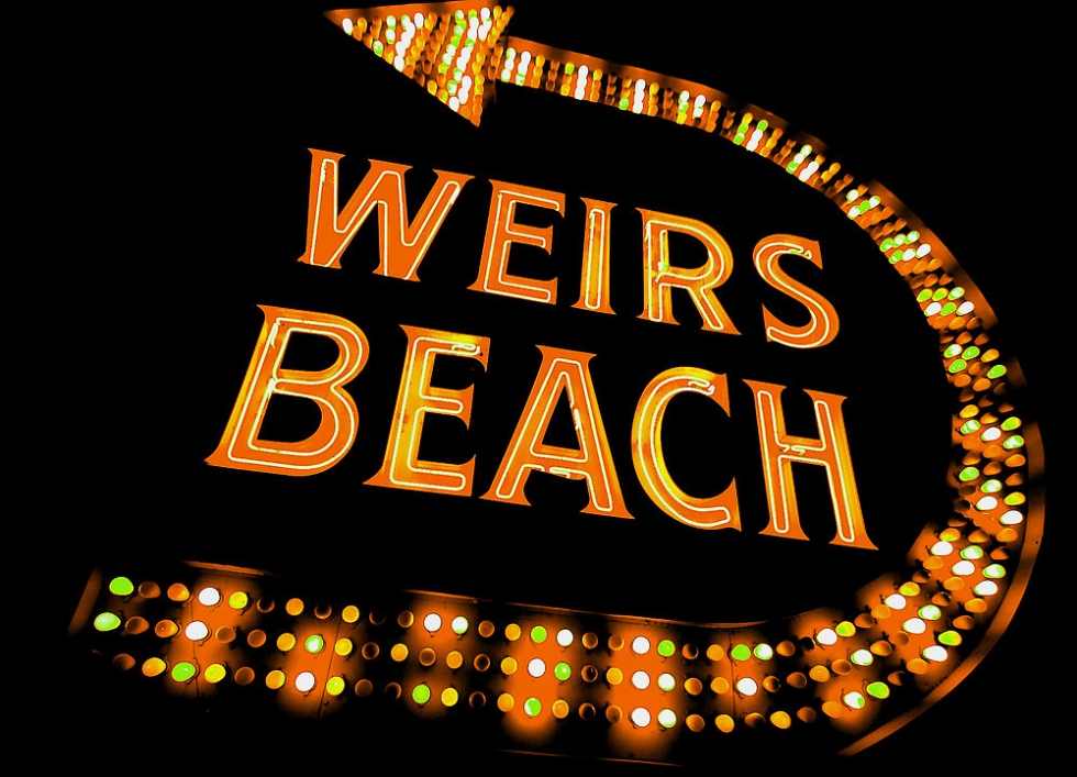 The Weirs Sign